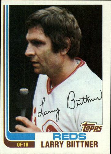 Photo of 1982 Topps #159 Larry Biittner