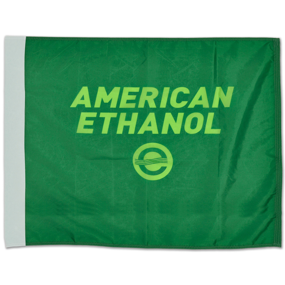 Jimmie Johnson Race Winning American Ethanol Green Flag from Charlotte 5/25/14