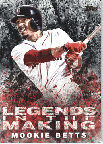 Photo of 2018 Topps Legends in the Making #LTMMB Mookie Betts
