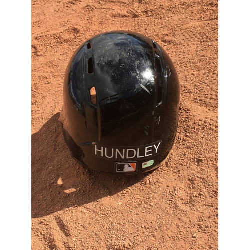 Photo of San Francisco Giants - 2017 Game-Used Spring Training Helmet Worn by #5 Nick Hundley - Size 7 3/8