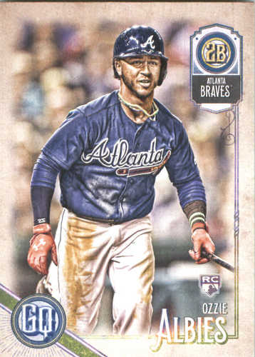 Photo of 2018 Topps Gypsy Queen #163 Ozzie Albies Rookie Card