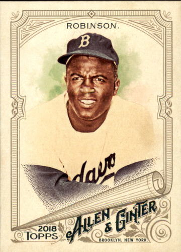 Photo of 2018 Topps Allen and Ginter #42 Jackie Robinson