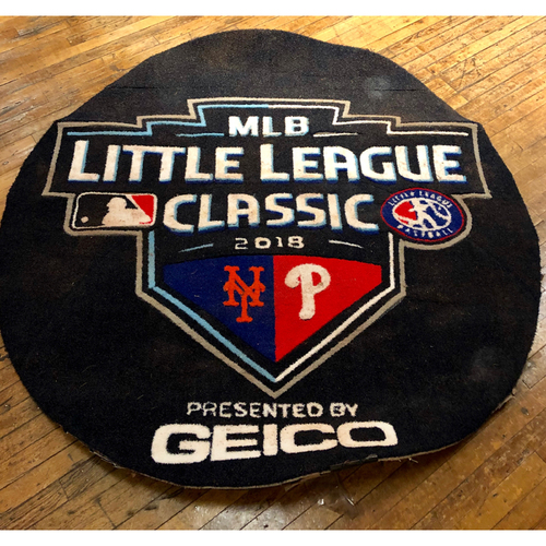 Photo of Game-Used On-Deck Circle: 2018 Little League Classic - New York Mets at Philadelphia Phillies, 8/19/18 (Mets Side)