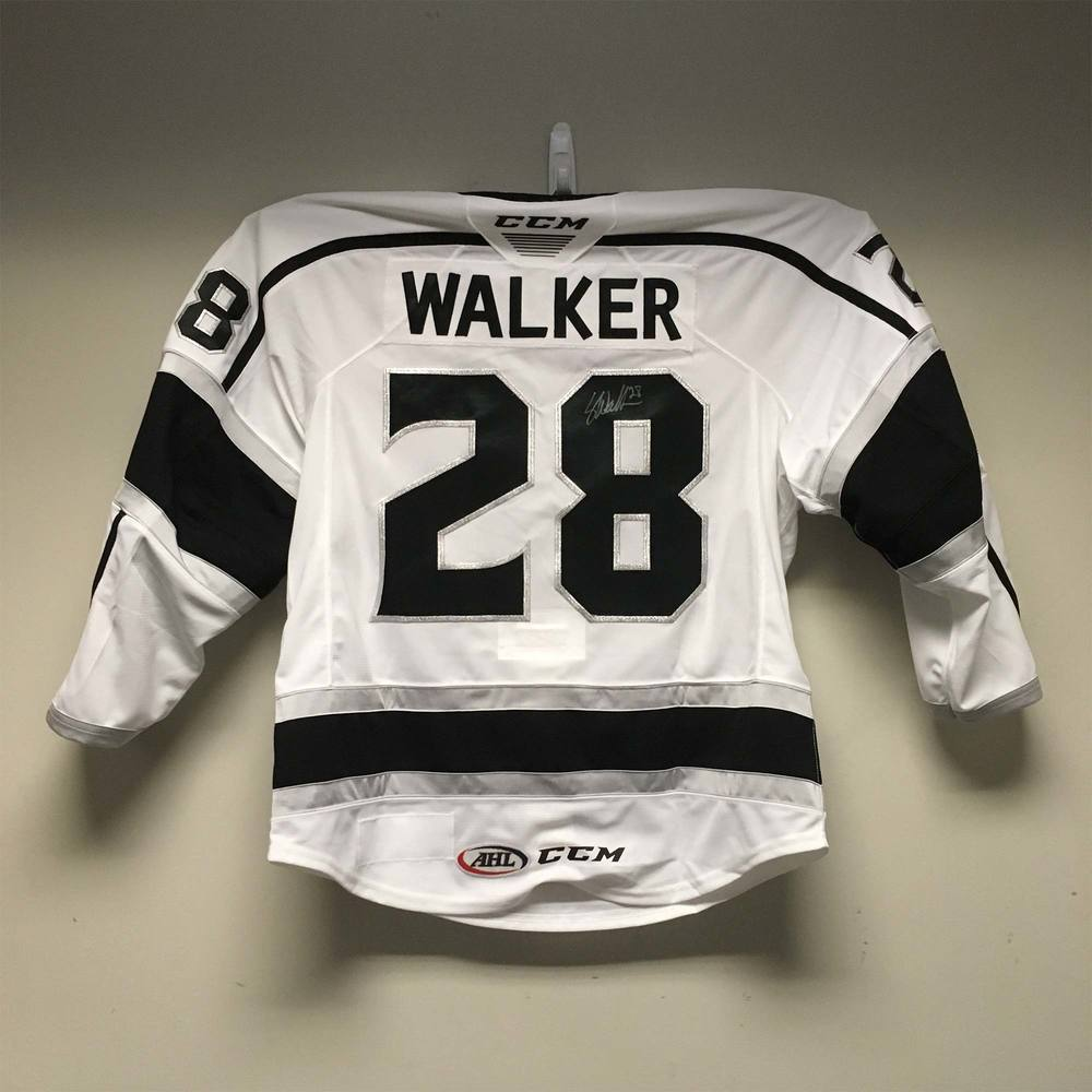 2019 Lexus AHL All-Star Skills Competition Jersey Worn and Signed by #28 Sean Walker