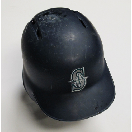 Photo of 2018 Team-Issued Navy Batting Helmet: Kyle Seager