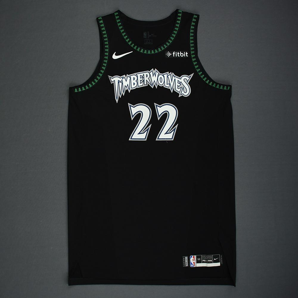 Andrew Wiggins - Minnesota Timberwolves - 2018-19 Season - Game-Worn Classic Edition '1998-08 Alternate' Jersey - Worn 4 Games