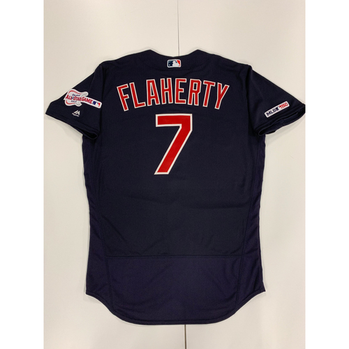 Ryan Flaherty 2019 Team Issued Alternate Road Jersey