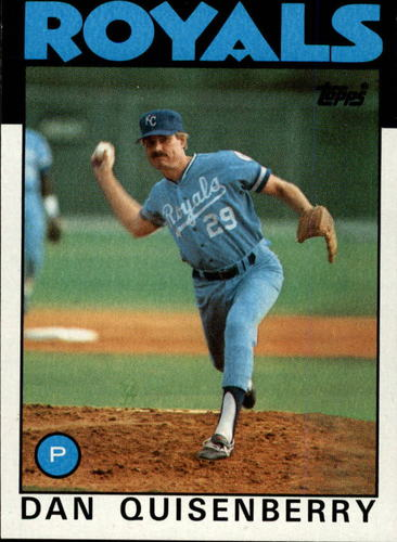 Photo of 1986 Topps #50 Dan Quisenberry