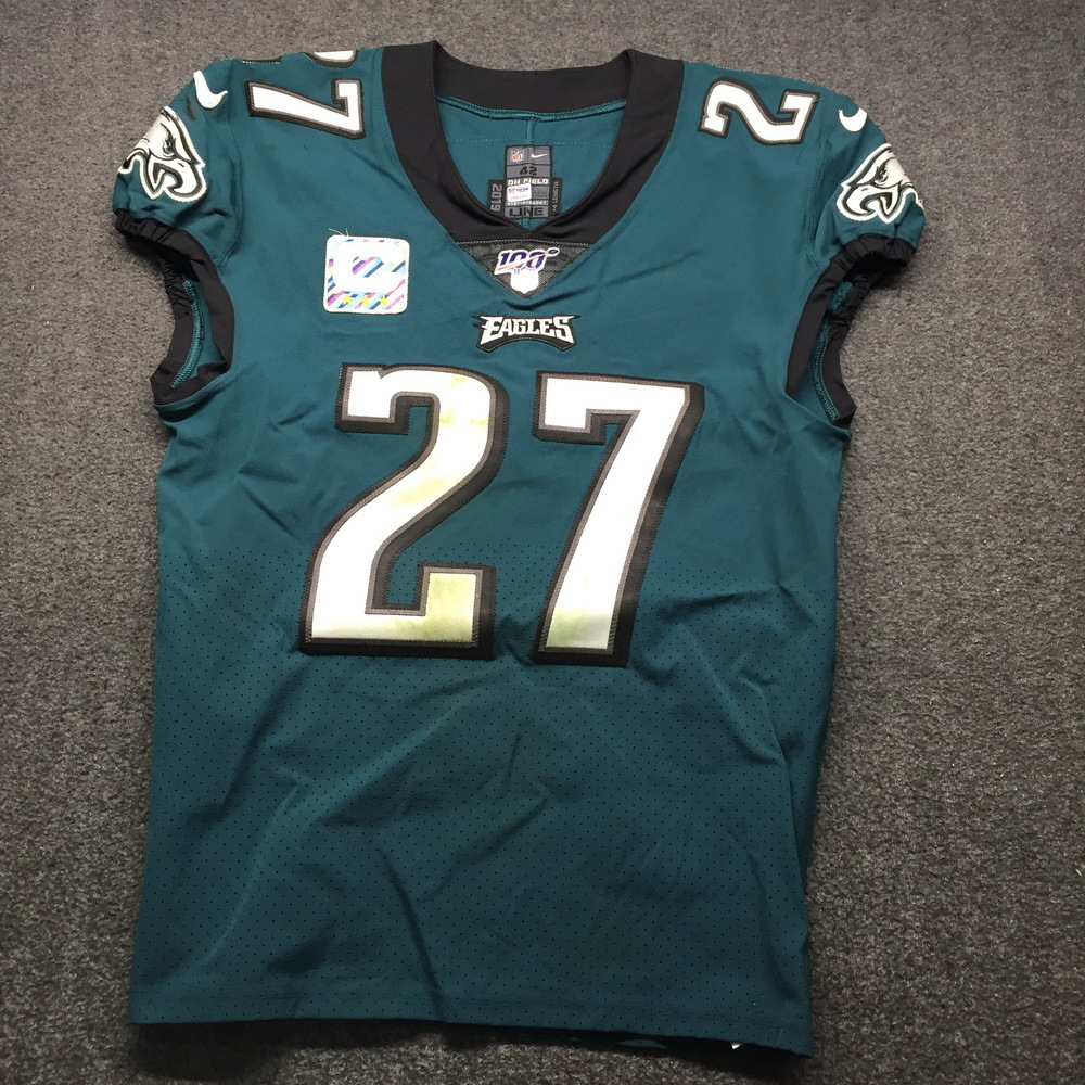 NFL Auction | Crucial Catch - Eagles Malcolm Jenkins Game Used ...