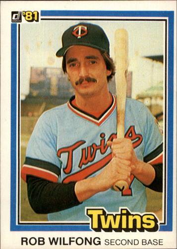 Photo of 1981 Donruss #493 Rob Wilfong