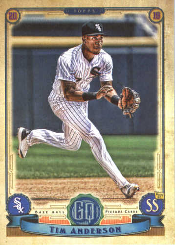 Photo of 2019 Topps Gypsy Queen #125 Tim Anderson