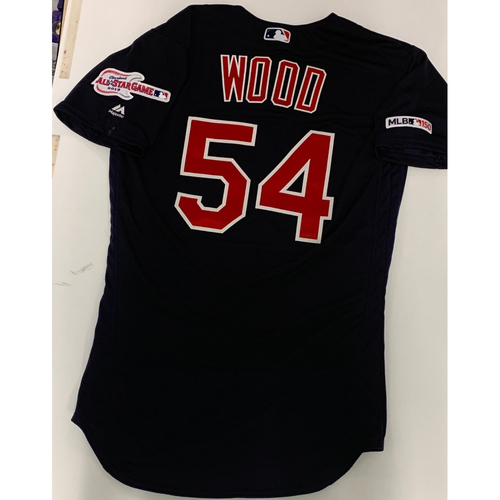 Photo of Hunter Wood Team Issued 2019 Alternate Road Jersey