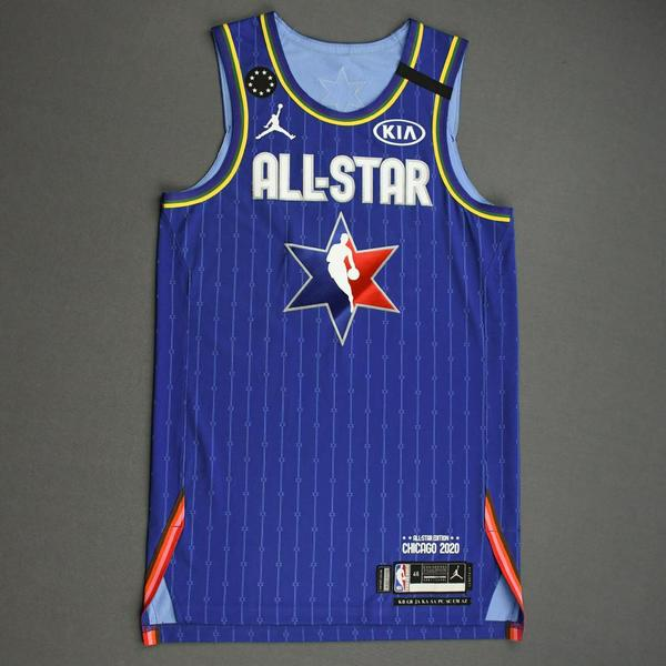 Image of BenSimmons - 2020 NBA All-Star - Team LeBron - Autographed Jersey