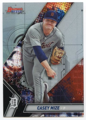 Photo of 2019 Bowman's Best Top Prospects #TP13 Casey Mize