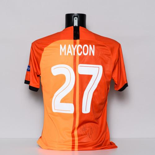 Photo of 20/21 Shakhtar Donetsk Jersey - signed by Maycon de Andrade Barberan