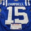 STS - Colts Paris Campbell Signed Game Issued Jersey Size 40