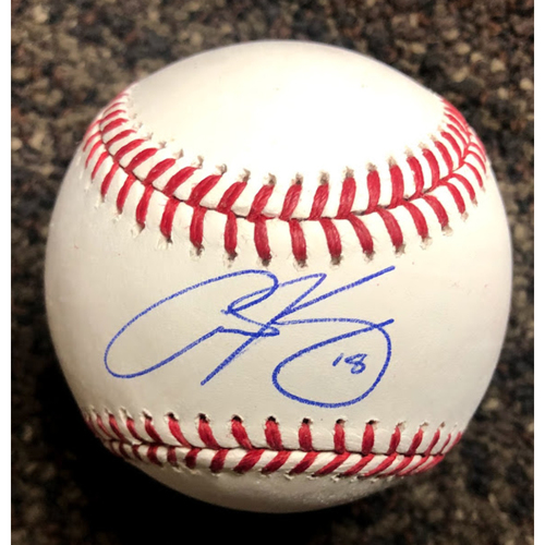 Photo of Carson Kelly Autographed Baseball