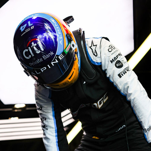 Photo of Fernando Alonso 2021 Race Used Race Suit - Styrian GP