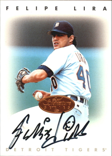 Photo of 1996 Leaf Signature Autographs #136 Felipe Lira