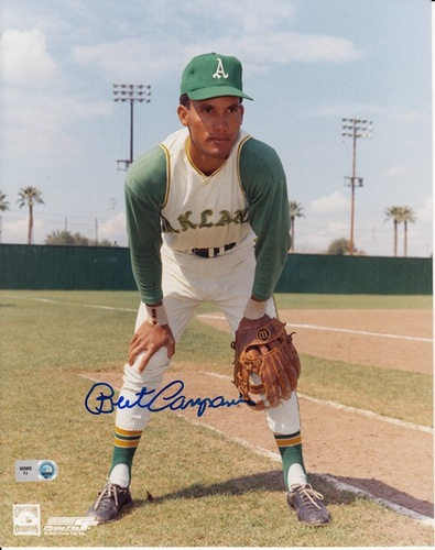Photo of Bert Campaneris Autographed 8x10