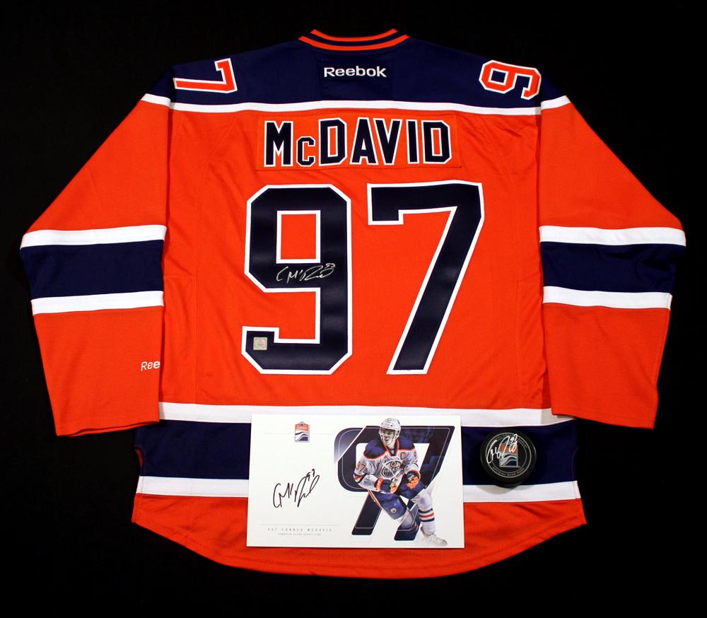 finest selection 6cdc8 517c2 Connor McDavid #97 - Ultimate Fan Autographed Memorabilia ...