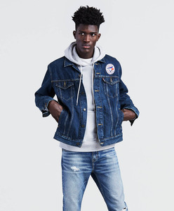 Toronto Blue Jays Denim Trucker Jacket by Levi's