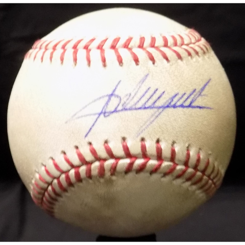 Adrian Beltre Autographed Baseball, Used During His 3,000th Career Hit Game - 7/30/2017