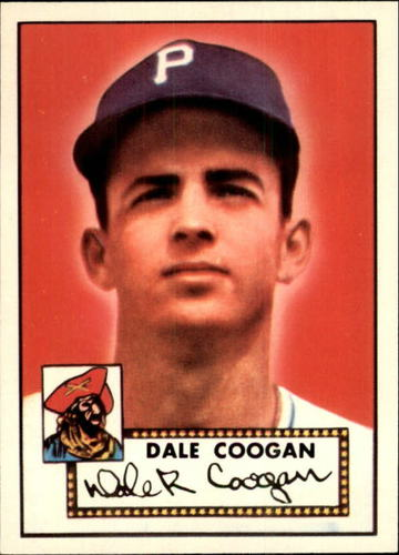 Photo of 1983 Topps 1952 Reprint #87 Dale Coogan