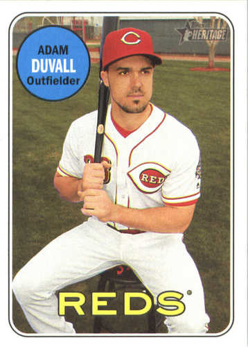 Photo of 2018 Topps Heritage #89 Adam Duvall