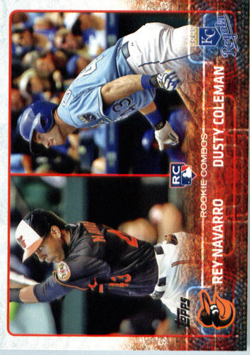 Photo of 2015 Topps Update #US298 Rey Navarro RC/Dusty Coleman RC