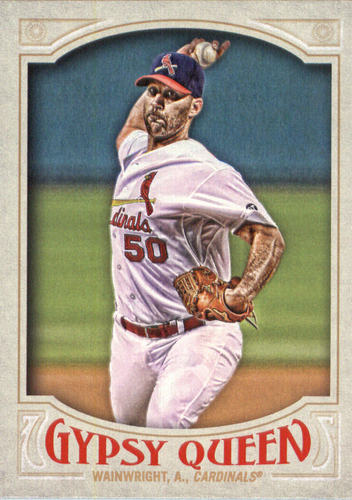Photo of 2016 Topps Gypsy Queen #21A Adam Wainwright/Pitching