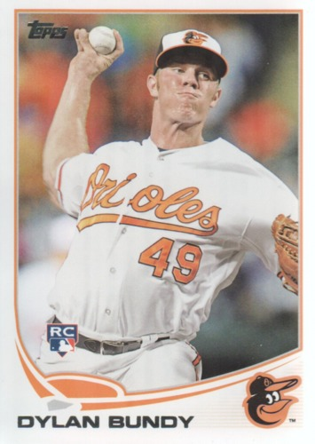 Photo of 2013 Topps #78A Dylan Bundy Rookie Card