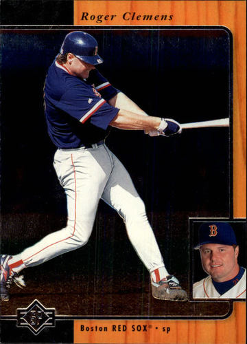 Photo of 1996 SP #39 Roger Clemens
