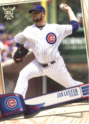 Photo of 2019 Topps Big League #33 Jon Lester