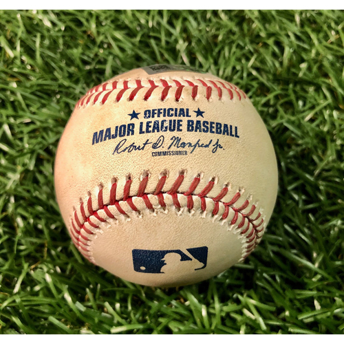 Photo of Game Used Baseball: Kevin Kiermaier 2RBI triple off Chris Rowley - August 22, 2017 v TOR