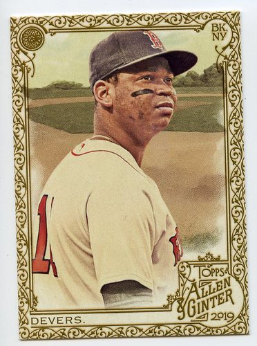 Photo of 2019 Topps Allen and Ginter Gold Border #97 Rafael Devers