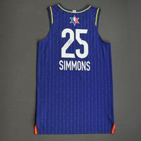 BenSimmons - 2020 NBA All-Star - Team LeBron - Autographed Jersey