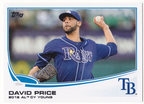 Photo of 2013 Topps #627 David Price