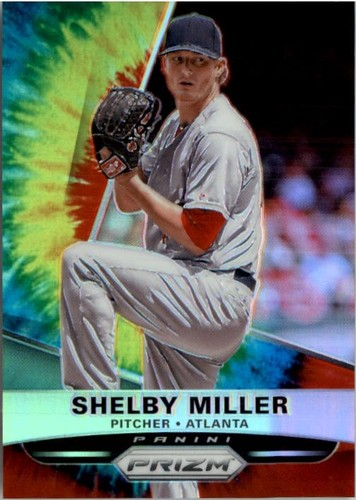 Photo of 2015 Panini Prizm Prizms Tie Dyed #136 Shelby Miller