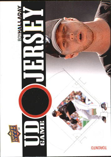 Photo of 2010 Upper Deck UD Game Jersey #RH Roy Halladay