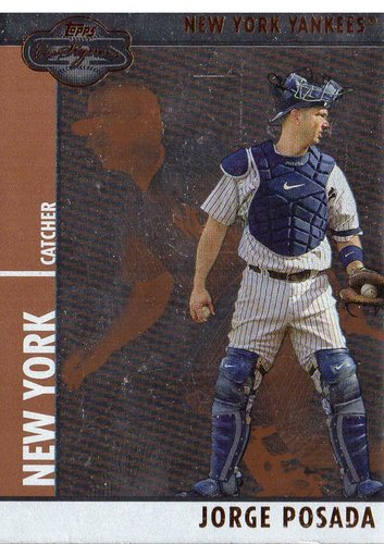 Photo of 2008 Topps Co-Signers Silver Bronze #35a Jorge Posada