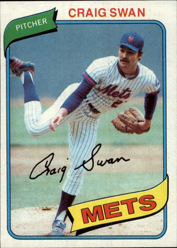 Photo of 1980 Topps #8 Craig Swan
