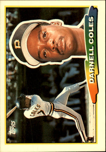Photo of 1988 Topps Big #255 Darnell Coles