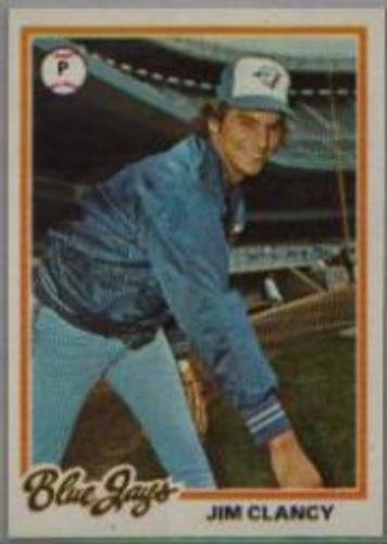 Photo of 1978 Topps #496 Jim Clancy DP RC