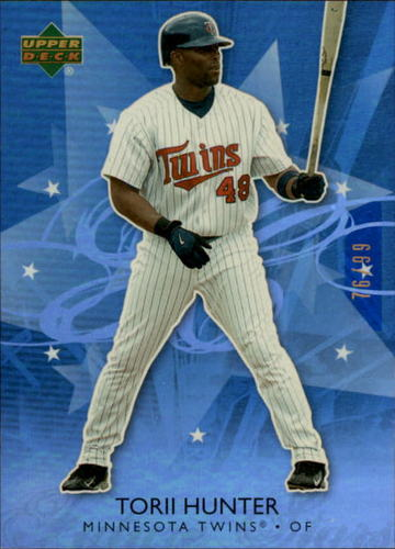 Photo of 2006 Upper Deck Future Stars Blue #40 Torii Hunter /99