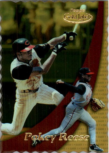Photo of 2000 Topps Gold Label Class 1 Gold #41 Pokey Reese