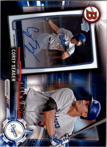 Photo of 2017 Topps Bowman Then and Now #BOWMAN19 Corey Seager