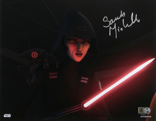 Sarah Michelle Gellar as Seventh Sister 8x10 Autographed In Silver Ink Photo