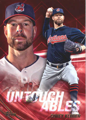 Photo of 2017 Topps Update Untouchables #U27 Corey Kluber