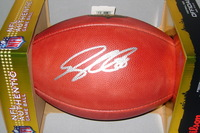PANTHERS - GREG OLSEN SIGNED AUTHENTIC FOOTBALL